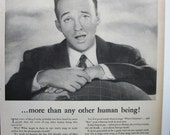 """Movies ... 114  """"Bing Crosby for Decca Records""""  Ad  -    October 1945"""