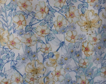 Liberty of London tana lawn fabric Mrs Munroe 6x26 Tissu Liberty