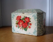 FOUND IN SPAIN -- beautifully decorated tea tin