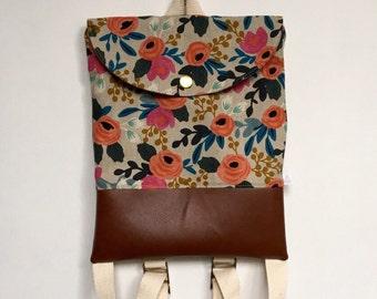 Rosa Floral Backpack