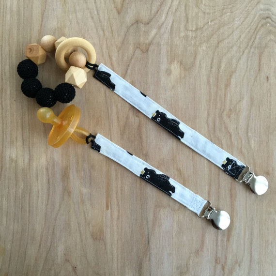 Universal Bears Pacifier Clip