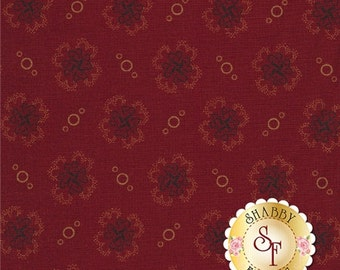 Andover Fabric, Red, Best Friends by Jo Morton, #5602