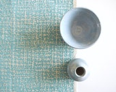 Formica - screen printed fabric - chalky colours