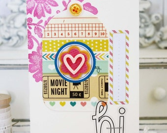 Hi...Handmade Card