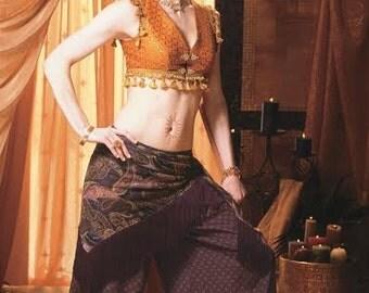 Pirate Fairy Faerie Belly Dance Fantasy Harem Pants SCA Renaissance