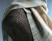 Handwoven Lightweight Scarf: Komorebi