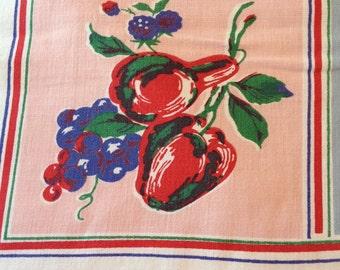 Vintage Fruit Tablecloth