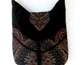 CUSTOM DEPOSIT Bohemian Gypsy Bag Tapestry  Messenger Bag  large bag renaissance bag messenger bag medieval bag