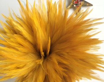 VOGUE  HACKLE , French Mustard, Chartreuse / 835