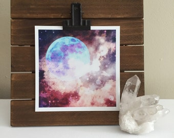 Cold Moon Photographic Print