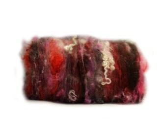 Fibres en folie n 492 handcarded batts fibers