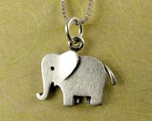 Tiny elephant necklace / pendant