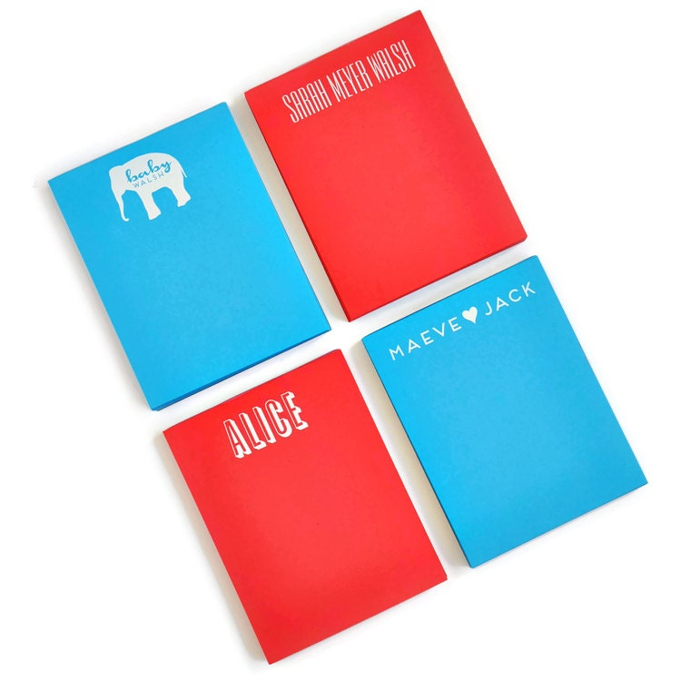 Custom Notepads Memo Pads: Personalized Primary Small Note Pad