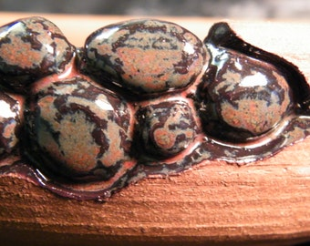 Carved Jasper Pebble Pot by oddartist