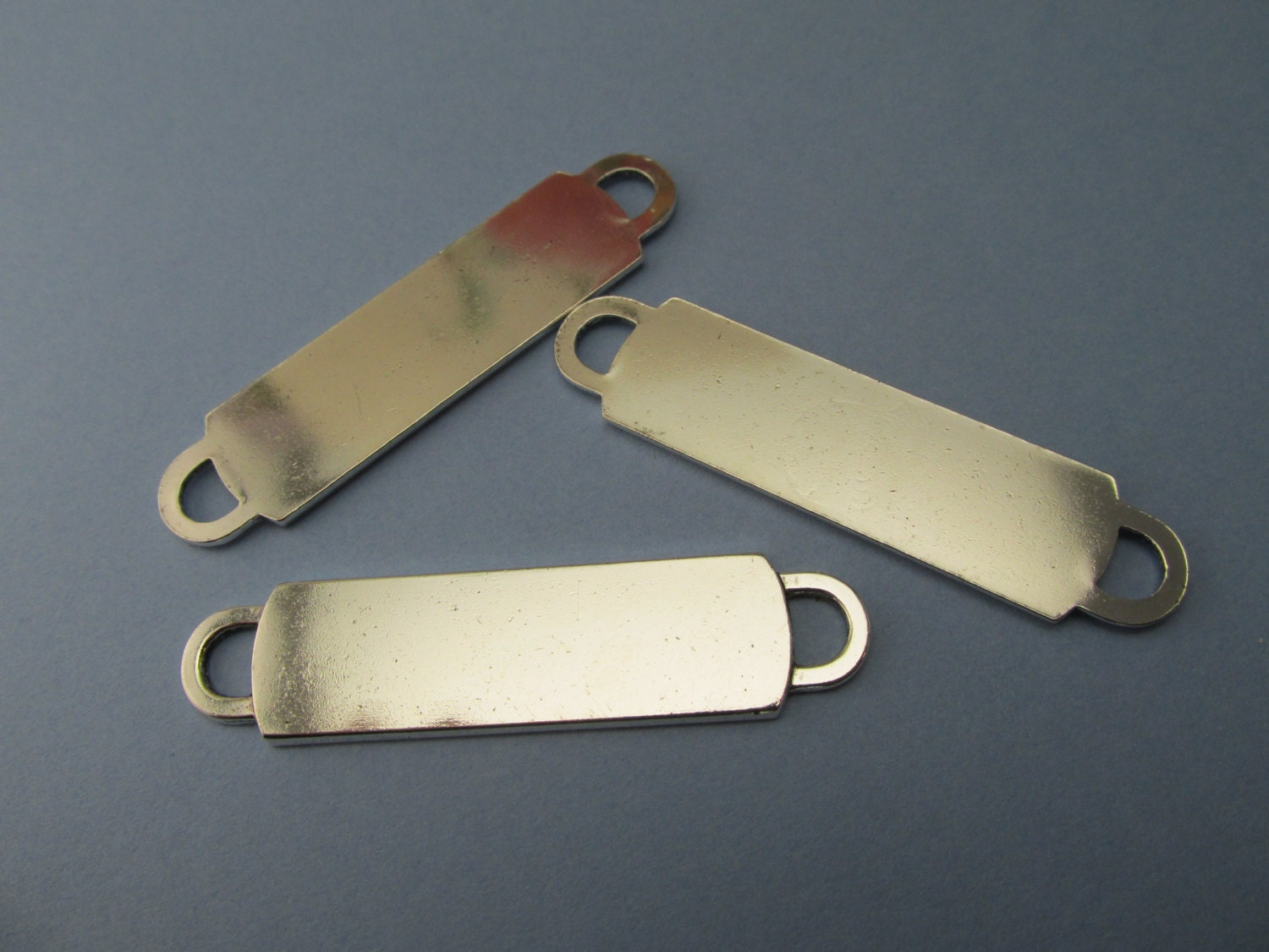 ID bracelet silver blanks supplies for jewelry making silver