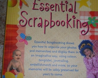 Scrapbooking Book with Yards of Assorted grosgrain ribbons