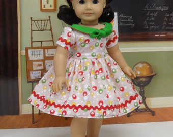 Fifties Dots - vintage style dress for American Girl doll
