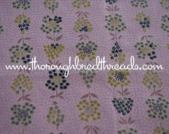 Fun Mod Floral- Vintage Fabric New Old Stock Great Eames Graphics 36 in wide