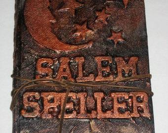 Halloween Altered Book - Salem Speller