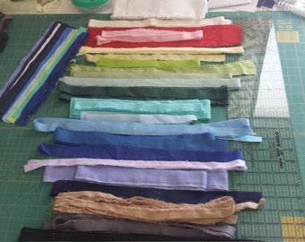 SELVAGE Bundle 31 - Fabric selvage selvedge supplies Quiltsy Destash