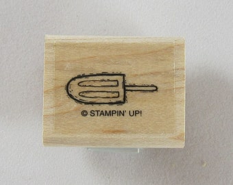 Stampin Up! - Shovel Rubber Stamp #RS194