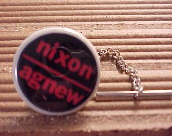 Tie Tack - Nixon Agnew Political Campaign Pin - Free Shipping to USA