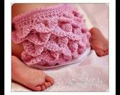Crochet pattern- Diaper Cover -  Crocodile Stitch Diaper Cover, handmade pattern crochet diaper cover - , pdf digital download # 416