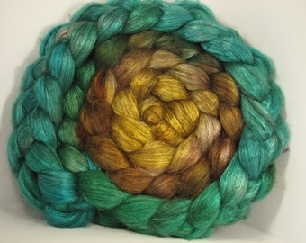 Yak Bombyx Silk 50/50 Roving Combed Top - 5oz - Sensi Star 1 - OoaK