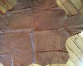 A beautiful super thin 2 sided italian lambskin - total of 4 plus square feet