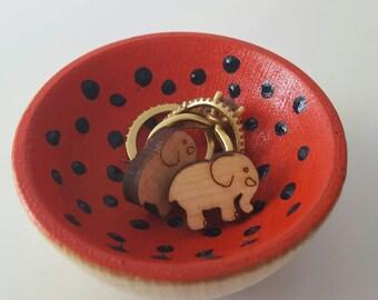 Ring holder, Ring dish, Ring bowl, Jewelry storage, Jewelry dish, Wood bowl, Wood ring holder, Wood jewelry dish, Wood jewelry bowl, Bowl