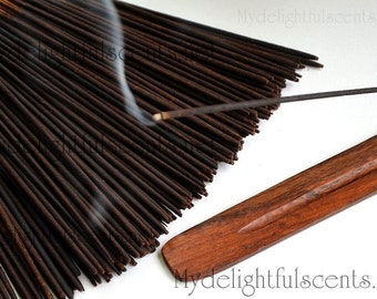 BLACKBERRY SAGE Incense sticks 20 pack Hand dipped, Air dried
