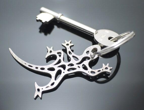 Gecko Keychain Keyring