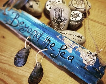 Beyond The Sea Driftwood Wall Hanging