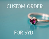 CUSTOM ORDER For SYD