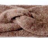 Ear Warmer- Women's Gift- Gift For Her- Ear Muff- Turban Headband- Knit Headband- Winter Accessories- Twist Bandana- Twist Headband- Turband