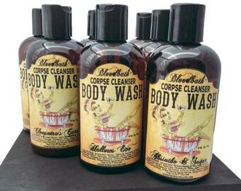 Zombie Love Vegan Body Wash Corpse Cleanser Shower Gel