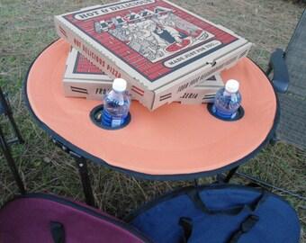 Portable table Outdoor furniture monogrammed beach house camping cornhole backyard patio sports picnics fishing outdoorsman BeachHouseDreams