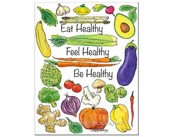New Year Resolution pdf printable EAT Healthy BE Healthy