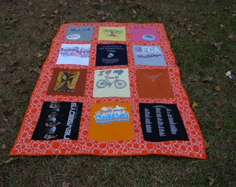 T shirt Memory Quilt with Your Tee Shirts