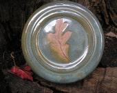 White Oak Leaf French Butter Keeper, keeps butter FRESH, butter crock, butter jar, butter dish