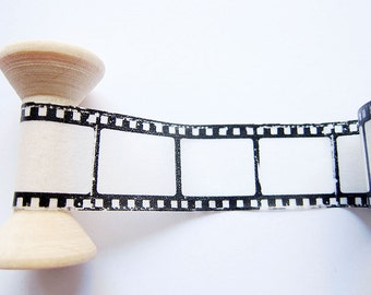SALE Movie Film Washi Tape / Masking Tape / Deco Tape - 20mm wide x 5m long