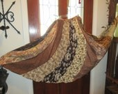 Gypsy tree's leaves and  ground shades of  brown skirt Beautiful Small, Medium,Large, Xlarge Plus size 1XL, 2XL,3XL, 4XL up to 62'' waist