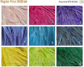 """ON SALE 20 Organza Ribbon Cord Necklaces  24"""" Length, You Pick Your Colors."""