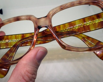 Zollitsch Bold Glasses - 1970s - Amber Color - Model - 249
