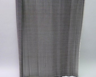 "One 48"" length of Jinsin / Buntal handwoven straw fabric"