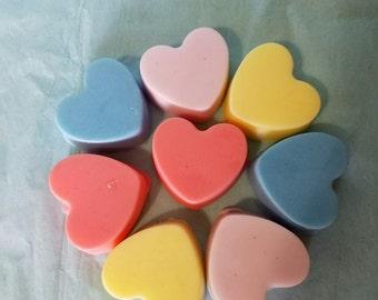 Decorative Heart Soaps 12 count