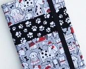 Kindle Paperwhite Cover, Nook Glowlight Cover, all sizes, Happy Dogs Tablet hardcover Cover