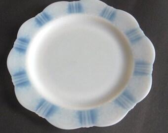 American Sweetheart Monax Depression Glass Dinner Plate MacBeth Evans Glass