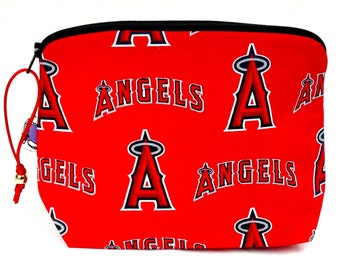Zippered NOTIONS BAG with zipper pull -  The Angels