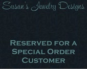 RESERVED LISTING for Jane - Custom MedAlert Clip on Triple Disc Charm - yellow gold filled 1 sided discs & lobster clasp - MA symbol stamp